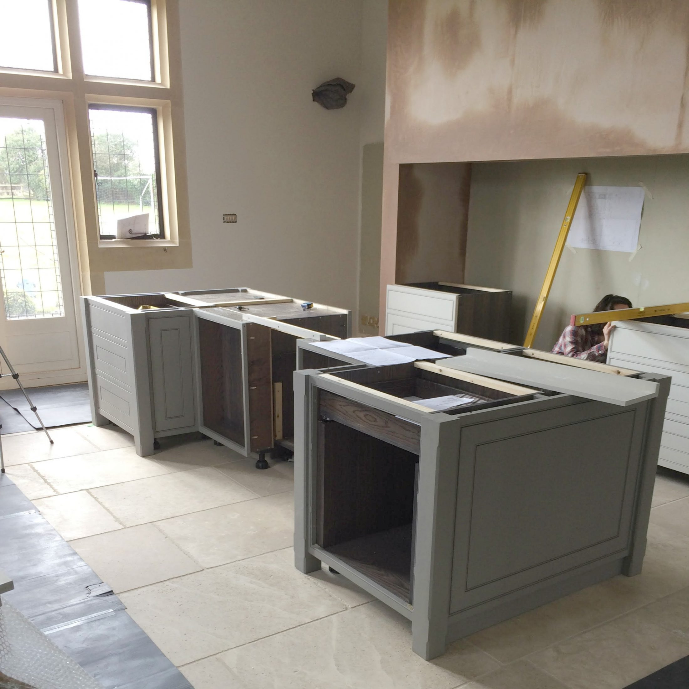 Behind the scenes at a kitchen installation