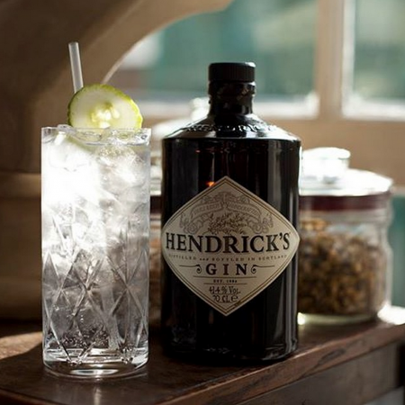 Hendricks Gin & Tonic - Humphrey Munson Blog