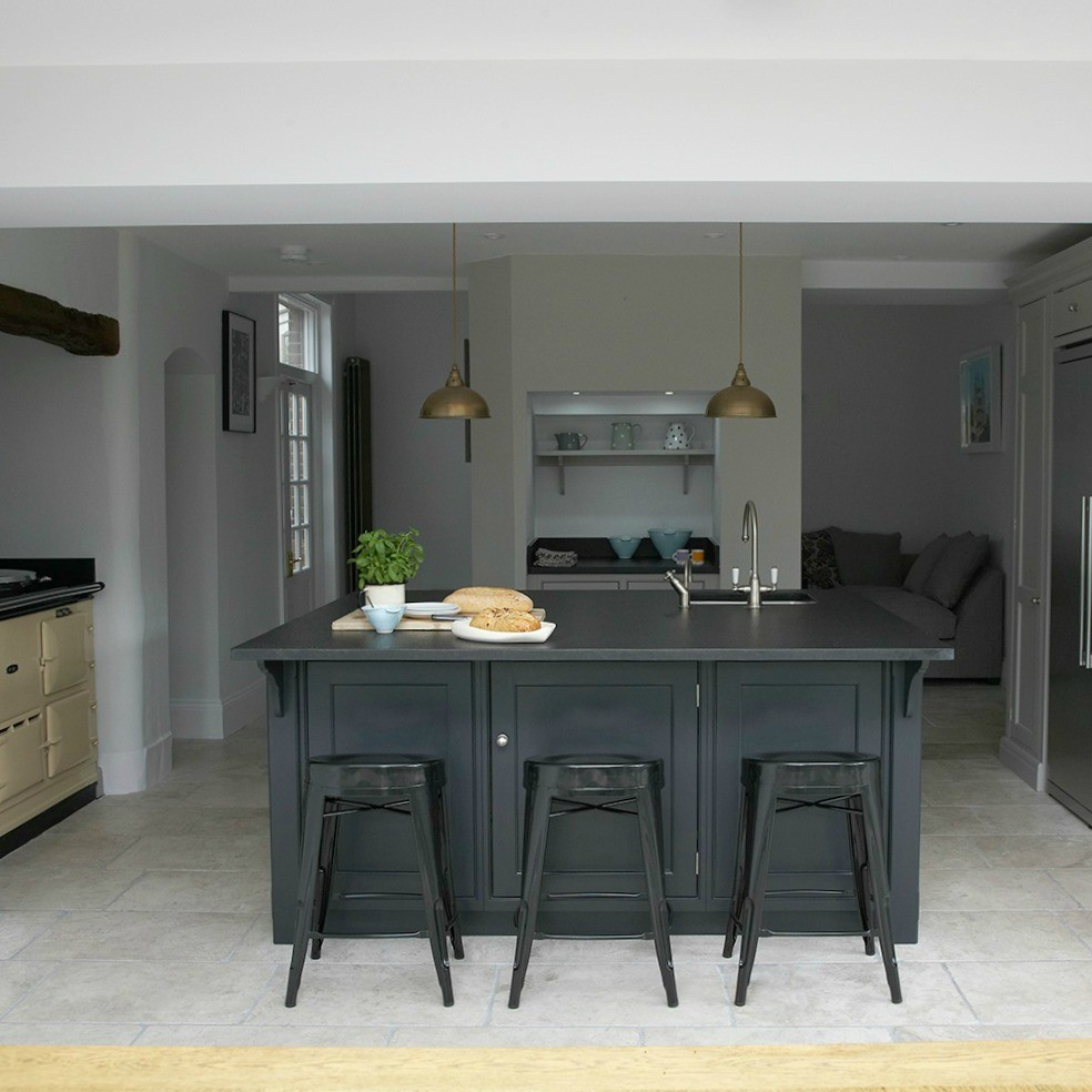 Victorian Townhouse Extension   Humphrey Munson. Classic Contemporary Victorian  Kitchen Extension