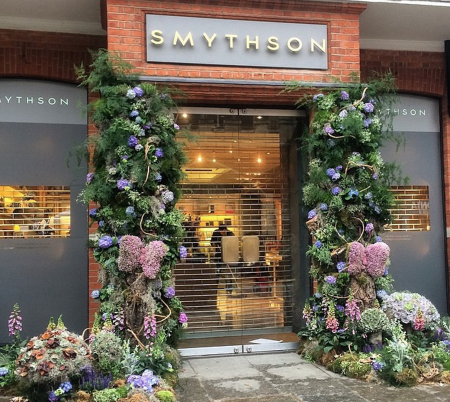 Chelsea in Bloom - Smythson - Humphrey Munson Blog