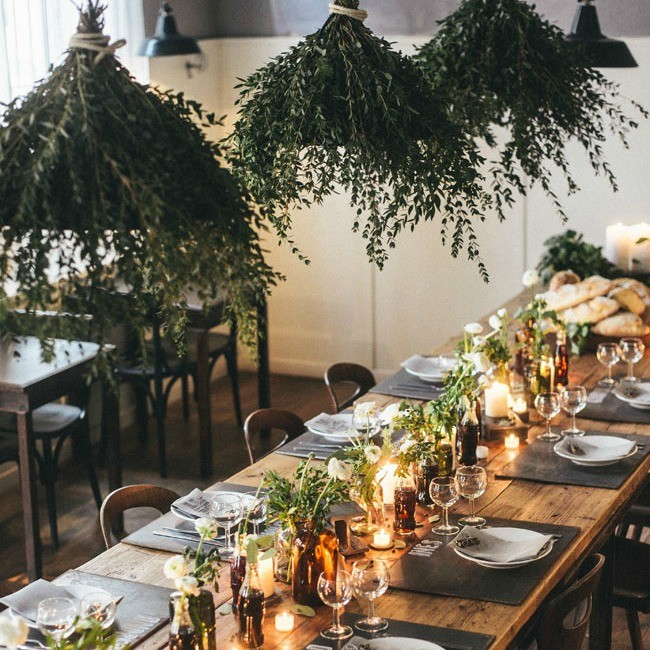 Italian Osteria Wedding Inspiration - Table Styling - Humphrey Munson Blog