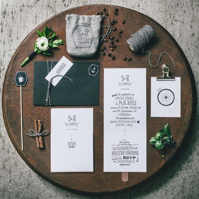 Italian Osteria Wedding Inspiration - Table Styling - Humphrey Munson Blog 11