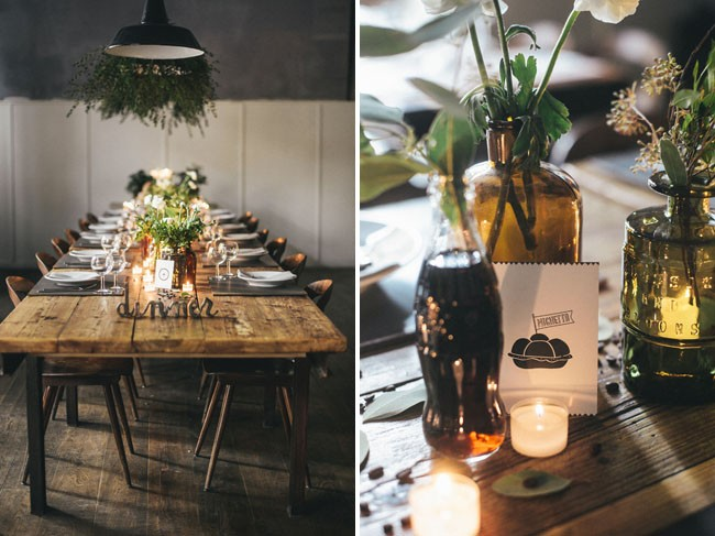 Italian Osteria Wedding Inspiration - Table Styling - Humphrey Munson Blog 2