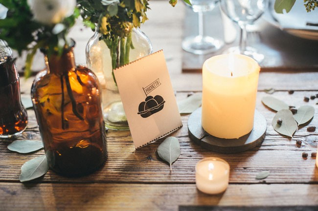 Italian Osteria Wedding Inspiration - Table Styling - Humphrey Munson Blog 5