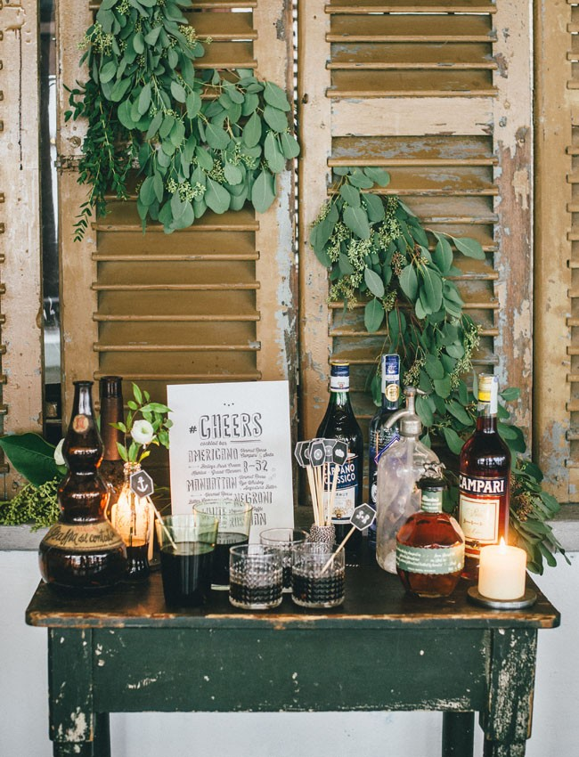 Italian Osteria Wedding Inspiration - Table Styling - Humphrey Munson Blog 9