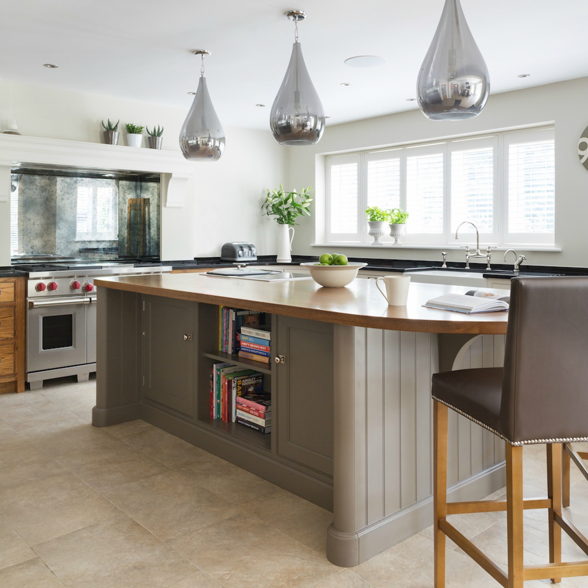 Luxe Contemporary Family Kitchen Brentwood Es