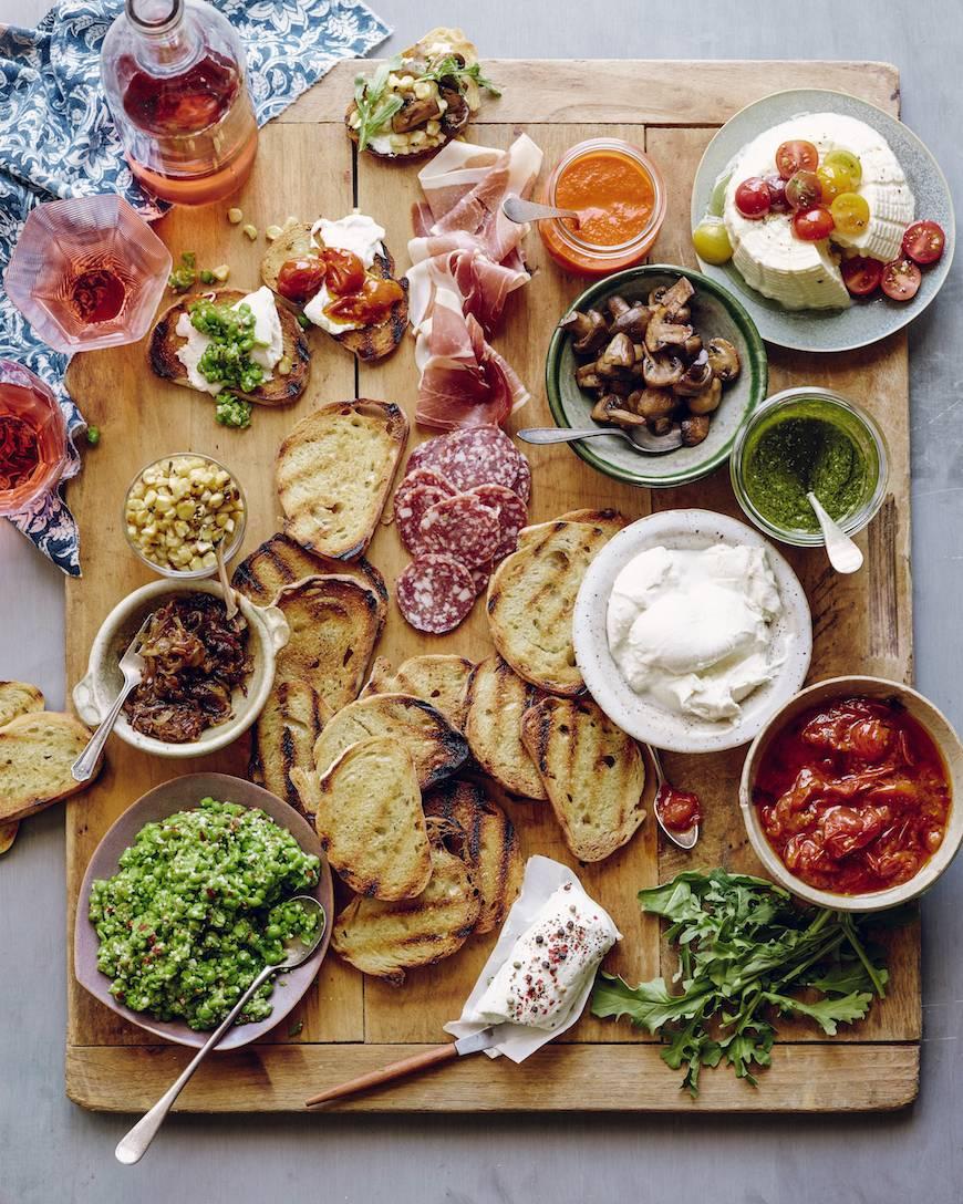 Bruschetta Bar - Whats Gaby Cooking - Humphrey Munson Blog