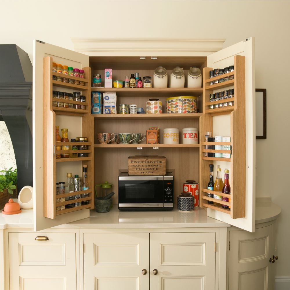 Kitchen Cabinets With Pantry: Life And Soul Of The Pantry