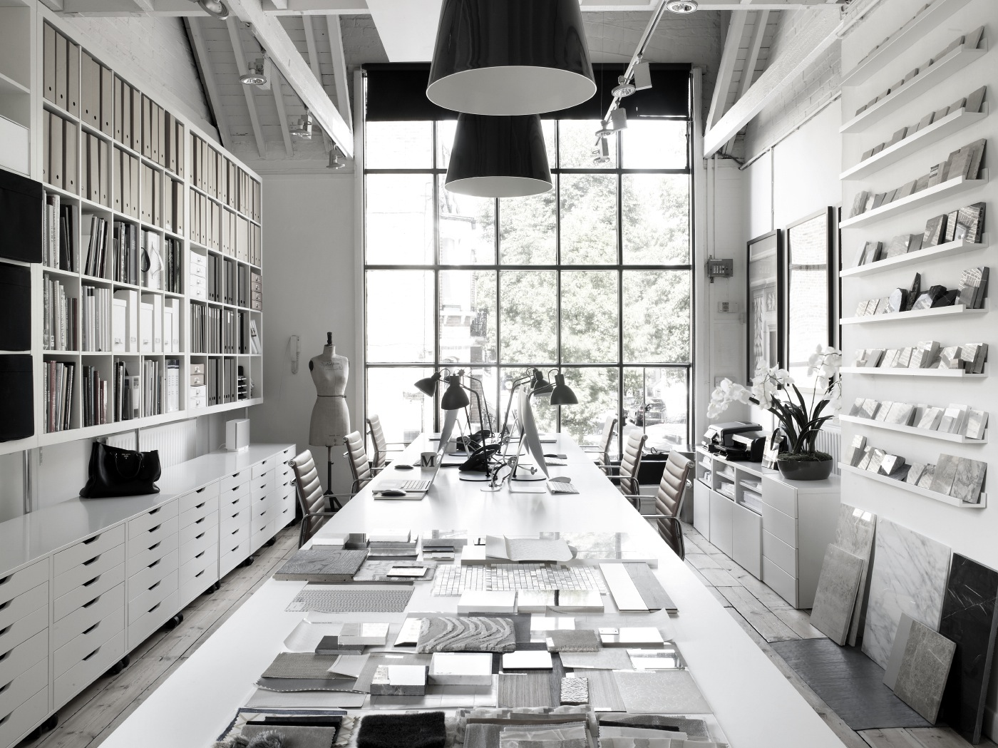 Inspiring creative workspaces for Interior design london