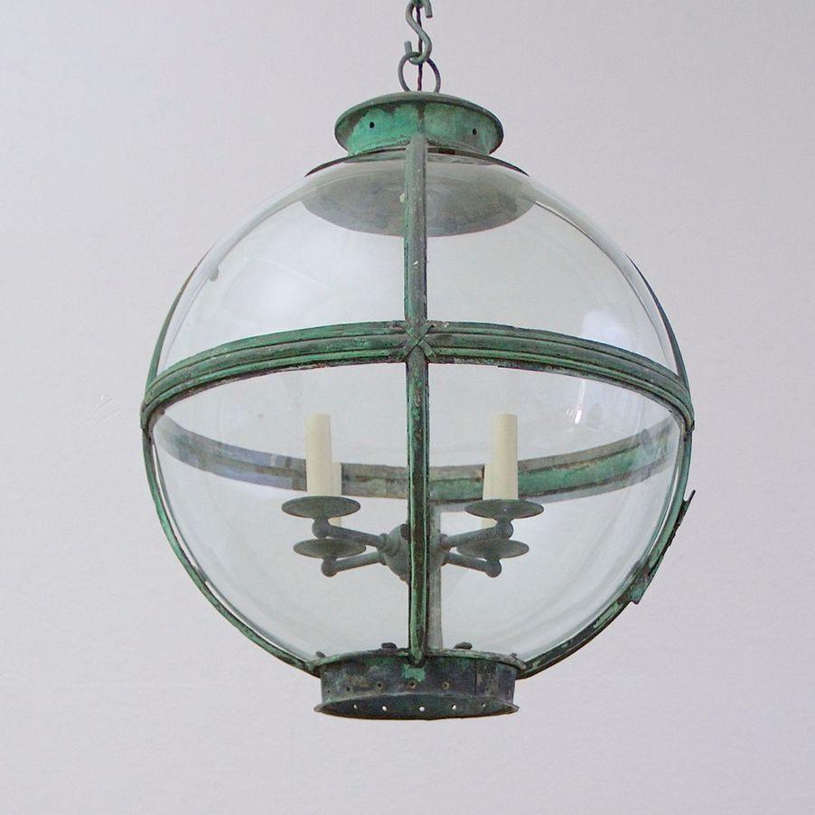 Matthew Cox Antiques - Globe lantern - Humphrey Munson Blog