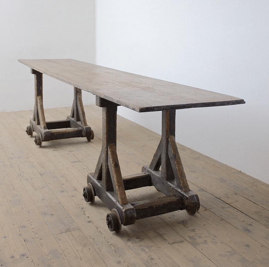 Matthew Cox Antiques Mill Table - Humphrey Munson Blog 1