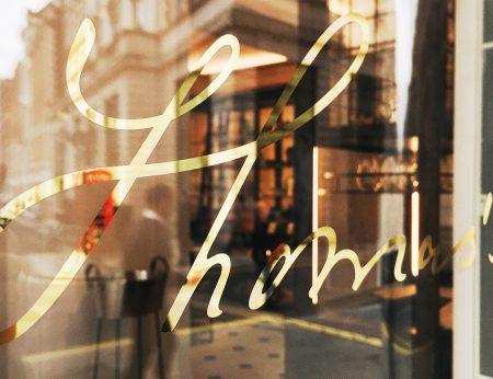 Thomas's - Burberry Cafe - Regent Street - London - Humphrey Munson Blog