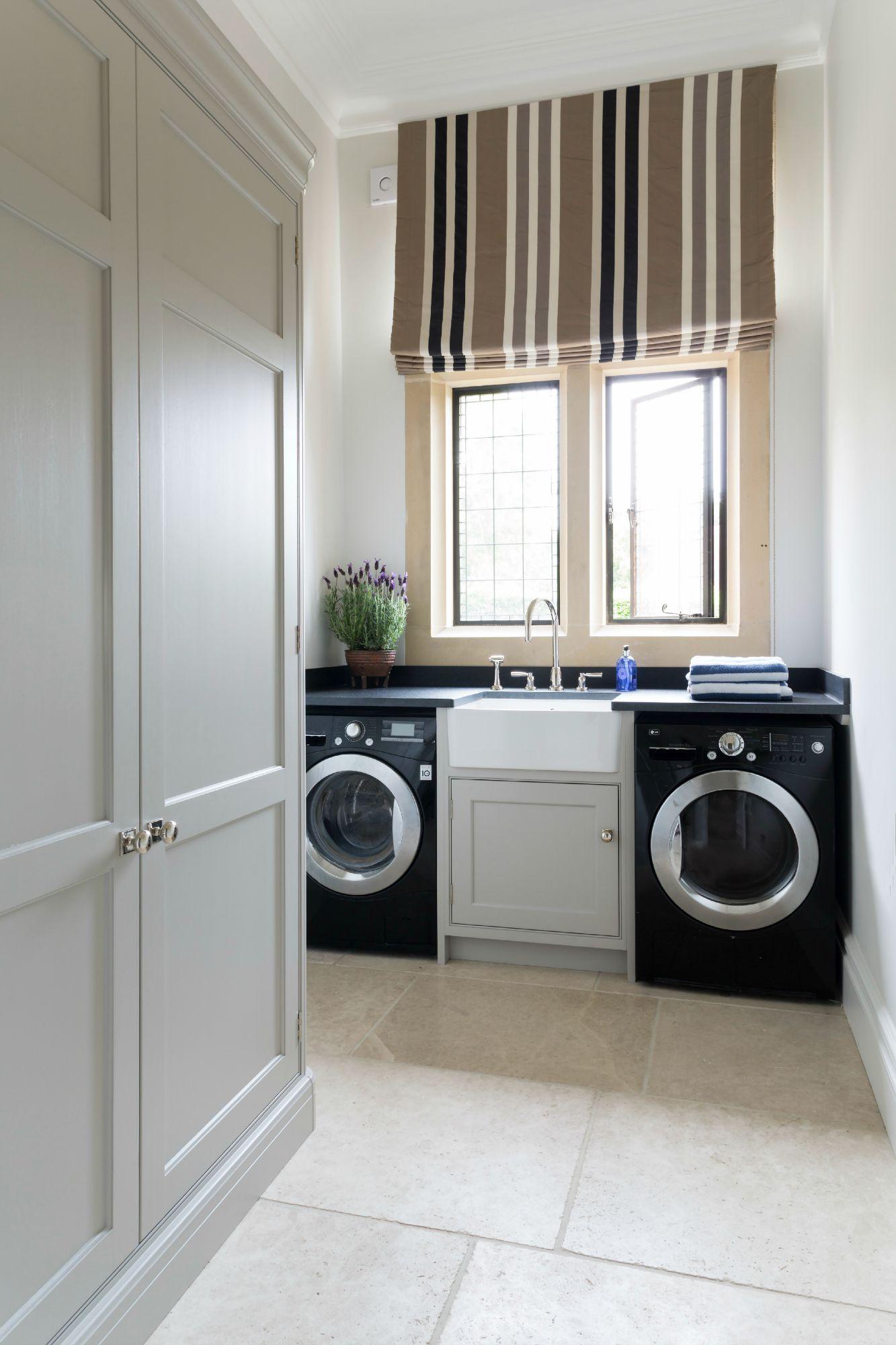 Laundry Room - Luxury Bespoke Kitchen Project - Ascot, Berkshire - Humphrey Munson