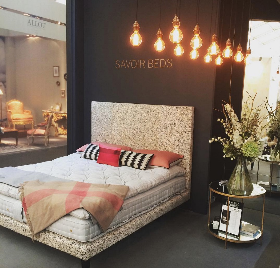 Savoir Beds - Decorex 2015 - 1