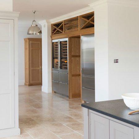 Sub-Zero Fridge-Freezer and Wine Preservation   Ashurst House project