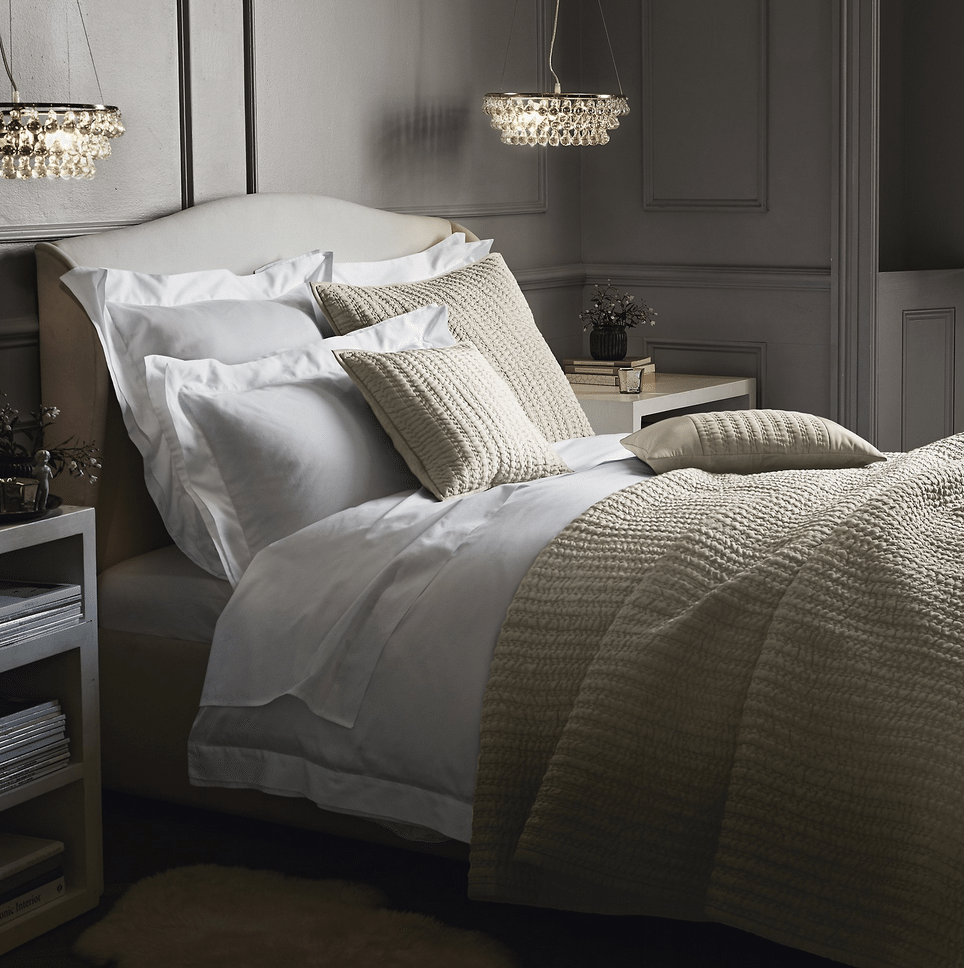 Dorchester bed linen - Humphrey Munson blog - white company