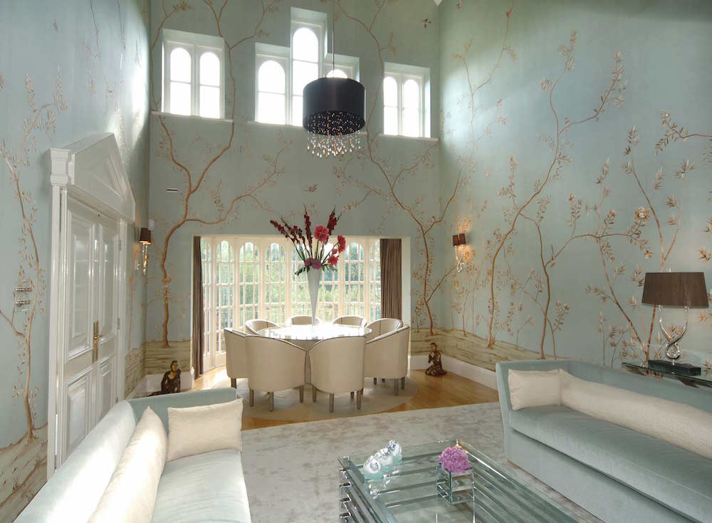 Fromental - Embroidered Nonsuch custom-col-the-aviary - Humphrey Munson Blog 1
