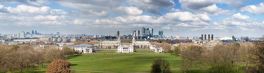 Greenwich Park - View across London - Henry Stuart - Sunday lunch and autumn walk - London - Humphrey Munson blog