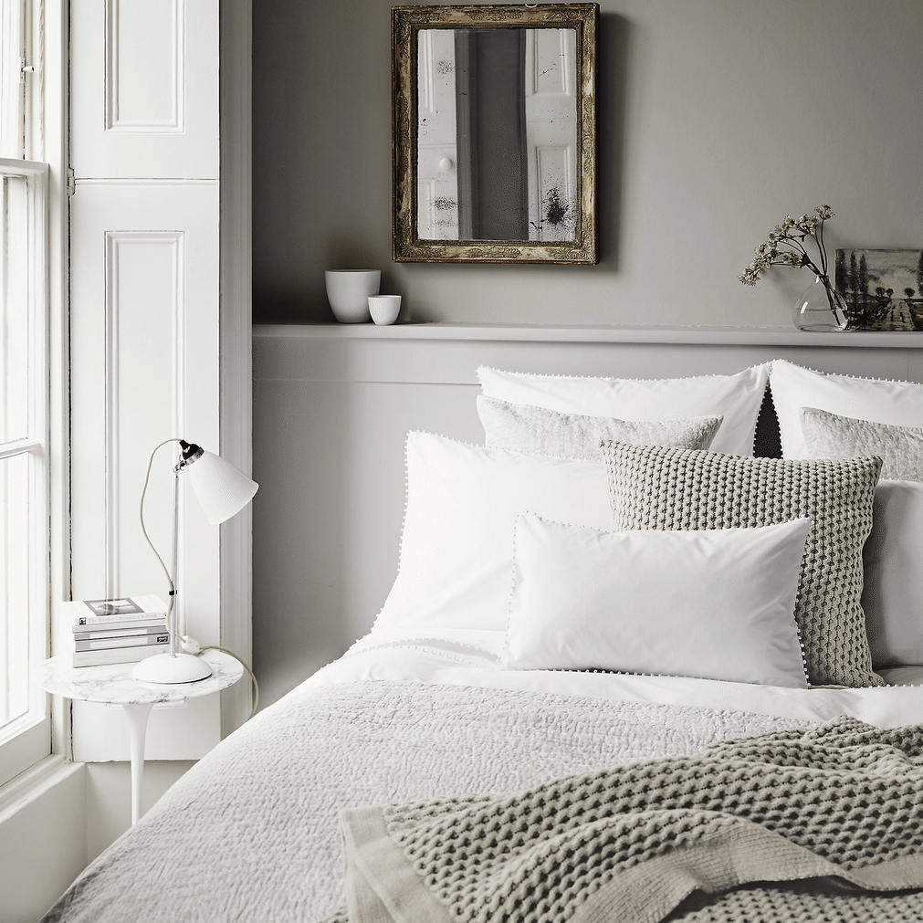 5 bedroom ideas for autumn from the white company for Bedroom designs white