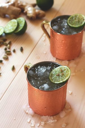 Cardamom Moscow Mule, Ginger Ale, Lime, Vodka Friday Night Cocktails - Humphrey Munson Blog