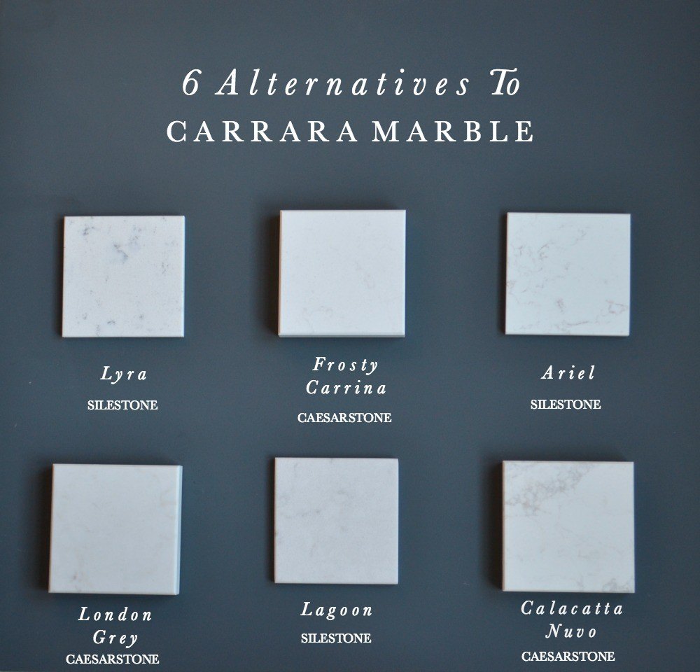 6 Alternatives To Carrara Marble Worktops