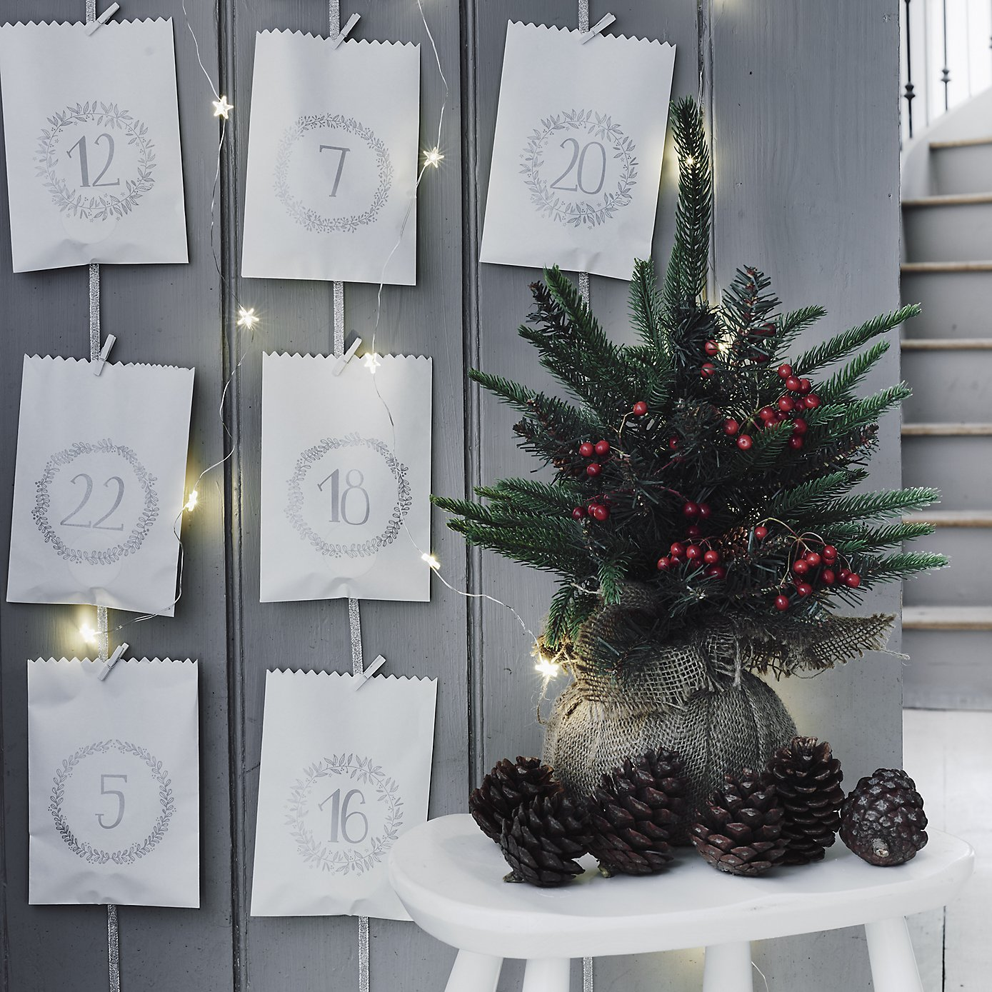 Advent Calendar Bags - The White Company - Humphrey Munson