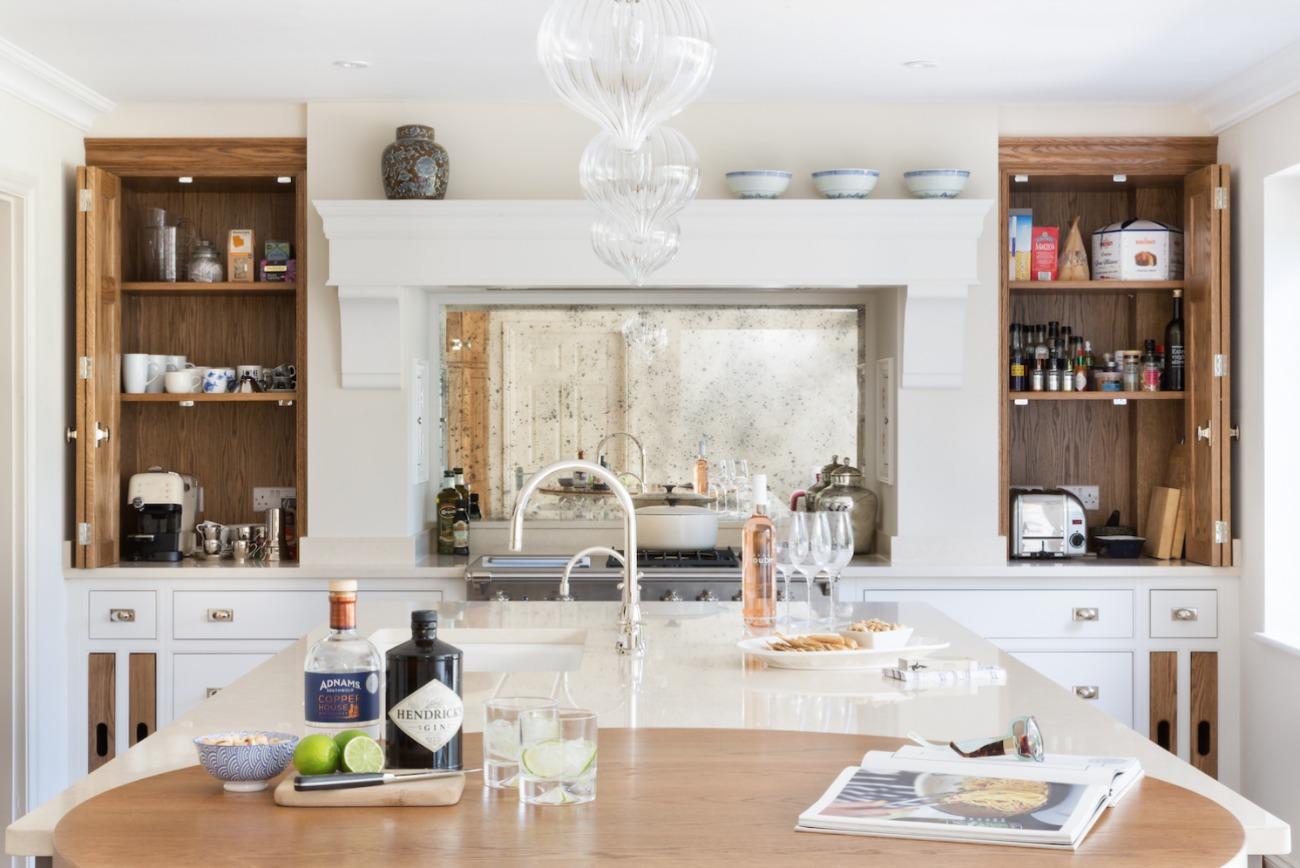Bespoke kitchen storage ideas for Bespoke kitchen design