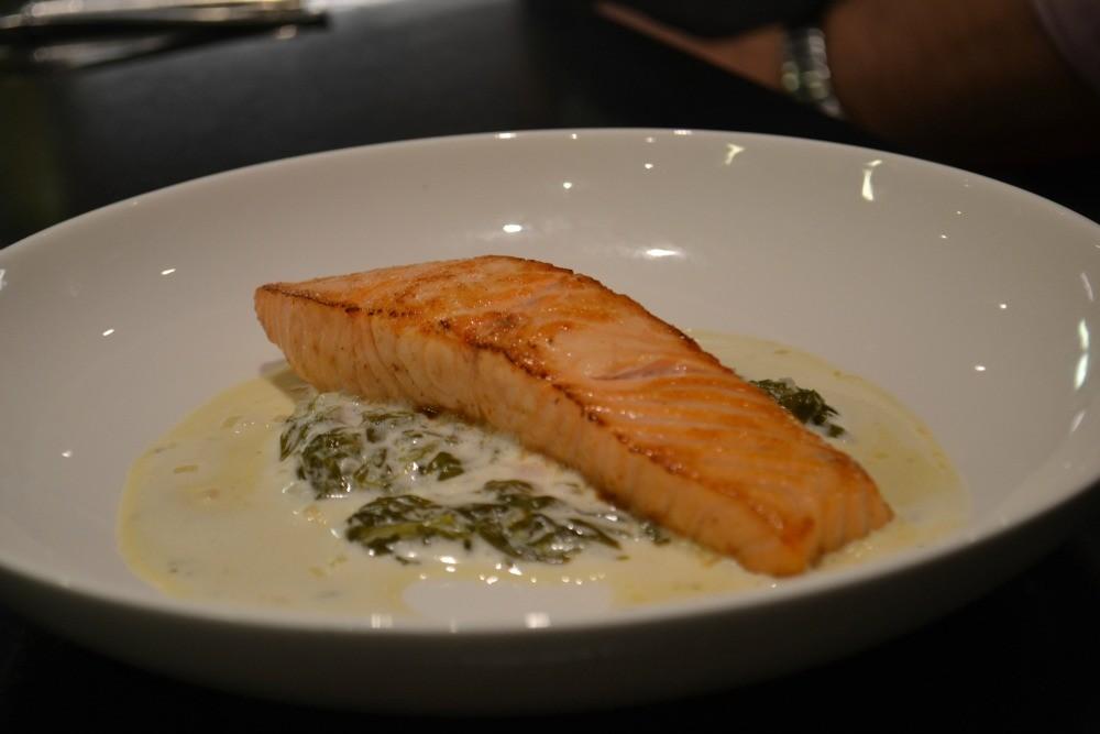 Cooking with Gaggenau - Raymond Blanc Cooker School - Humphrey Munson Blog - Recipes - Salmon Champagne Sauce 3