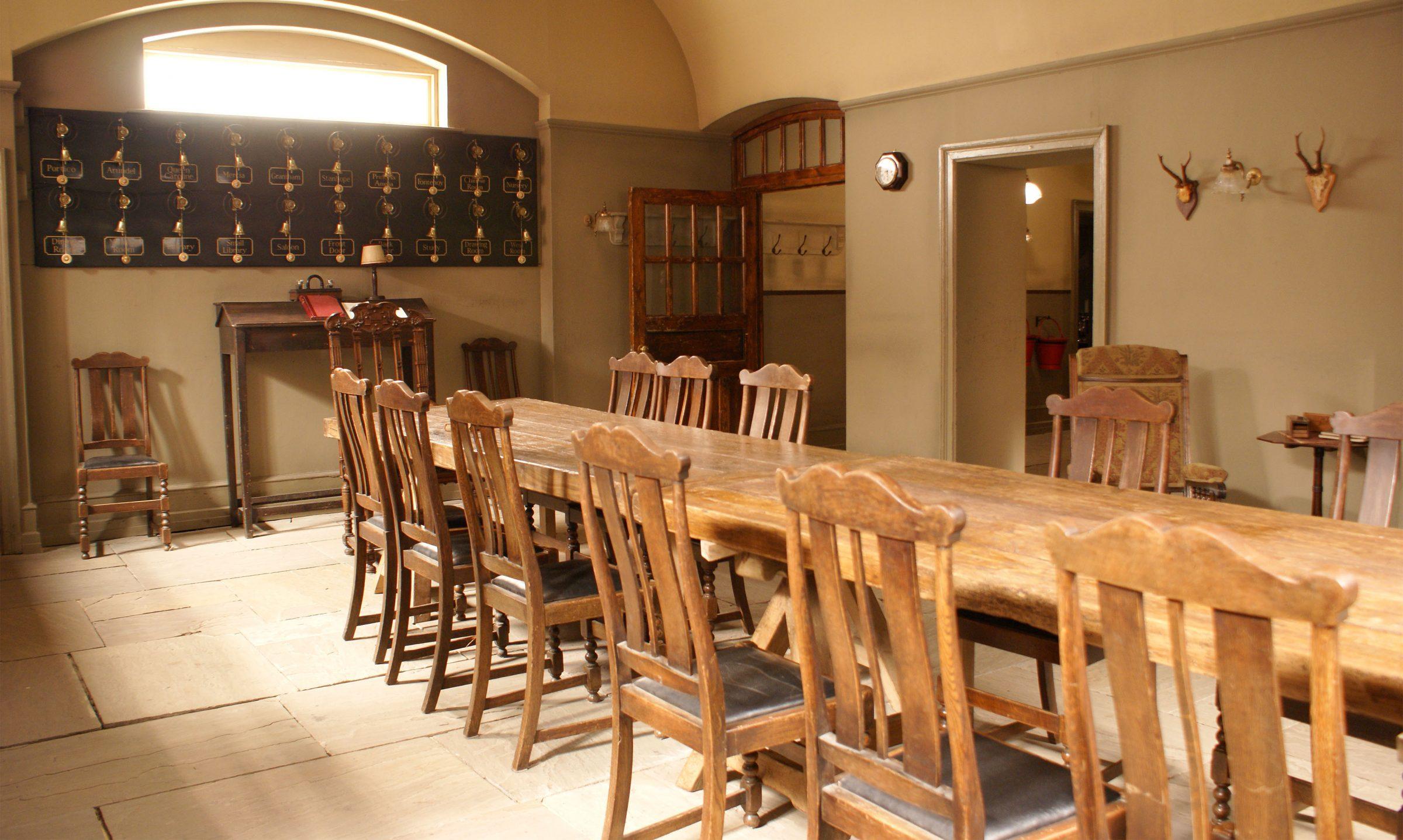 Mylands paint downton abbey for Servant quarters designs
