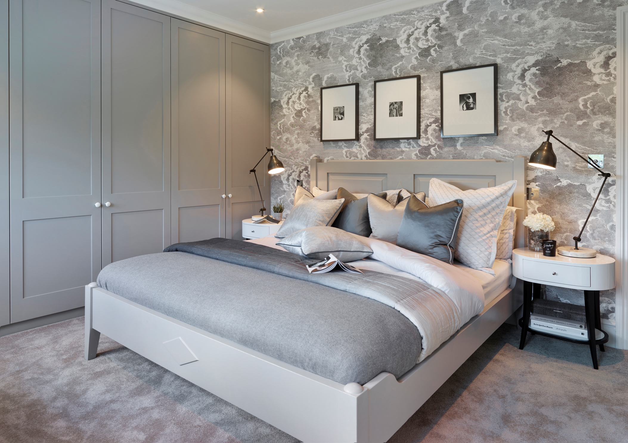 Small Scale Bedroom Furniture The Cobham Project By Sophie Paterson Interiors