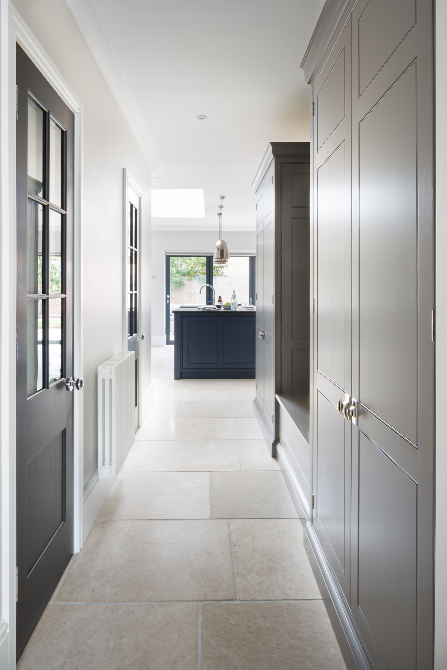How to design a boot room - Contemporary Spenlow Kitchen, Essex - Humphrey Munson