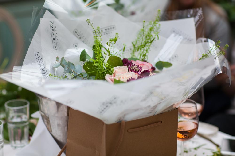 Wild Wood London - Bouquet Workshop - Humphrey Munson Blog 9