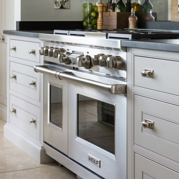 Wolf Dual Fuel Range Cooker - Humphrey Munson - Luxury Bespoke Kitchen