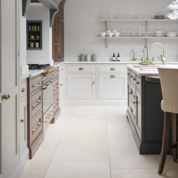 Babington Limestone Tumbled - Natural Stone Flooring - HM Stone Library