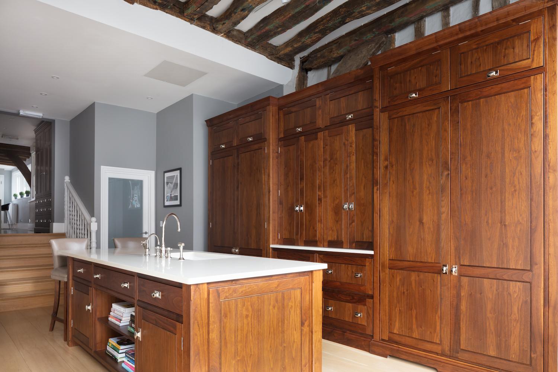 Glazed Kitchen Cupboard Doors Spenlow Ex Display Kitchen Humphrey Munson Kitchens