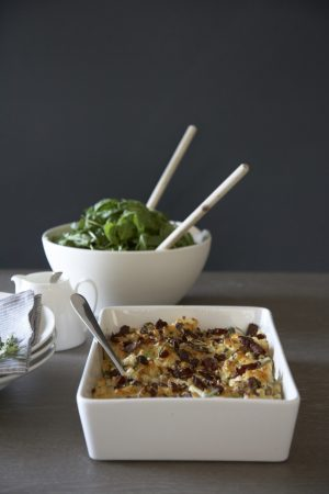Bacon Leek and Rosemary Mac and Cheese - Humphrey Munson Blog