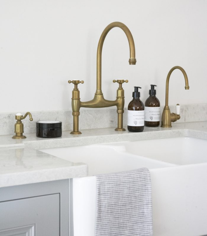 Hm Antique Brass Taps By Perrin Rowe