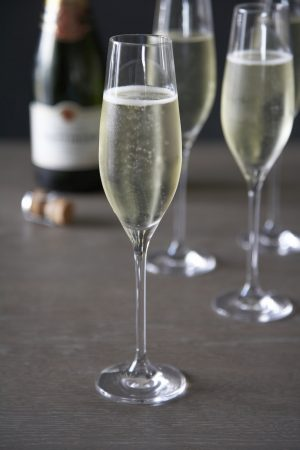 Tatinger Champagne In Dartington Flute Glasses- Humphrey Munson Blog