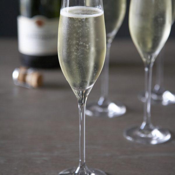 Tatinger Champagne In Dartington Flute Glasses- Humphrey Munson Blog
