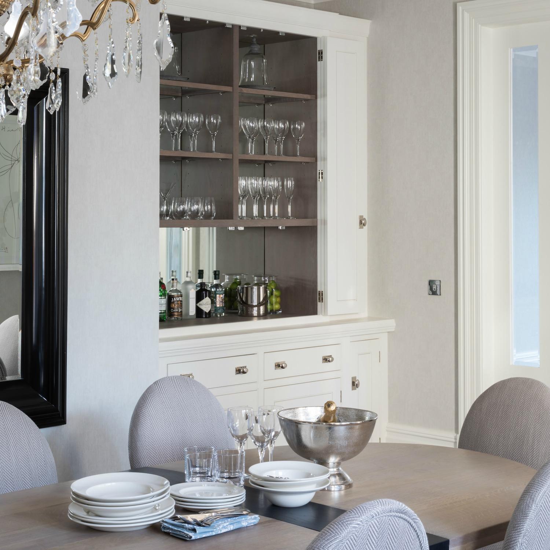 Epping Forest Project - Luxury Bespoke Kitchen - Humphrey Munson 50 SQ