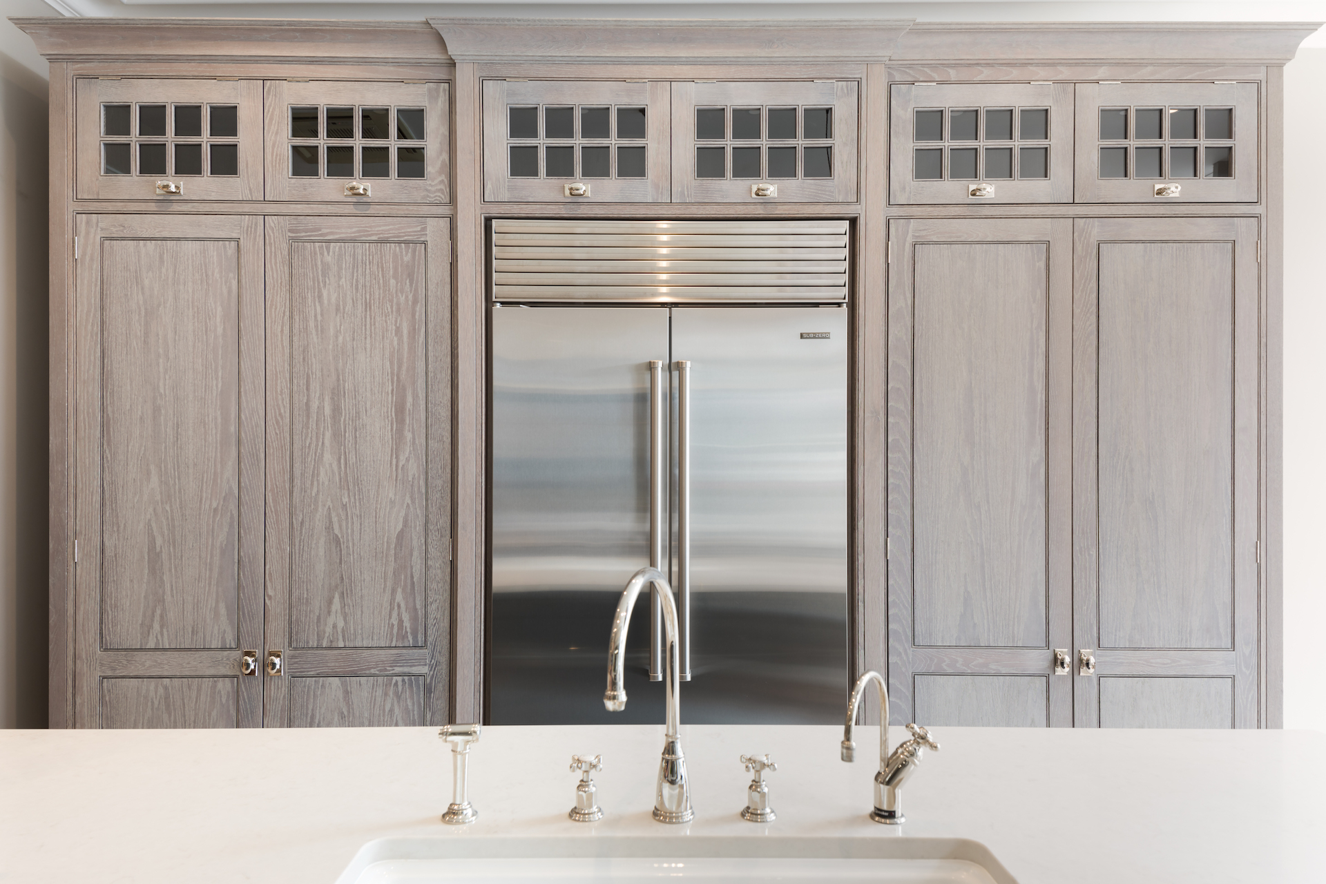 Sub Zero Glass Door Refrigerator sub-zero french door over-and-under refrigerator / freezer