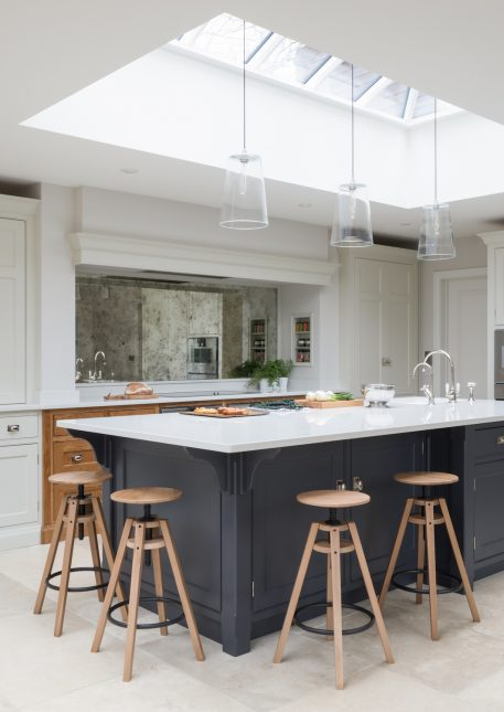 this stunning family kitchen in cobham surrey is open plan family living at its very best the project consists of a kitchen dining area and sitting area - Family Kitchen