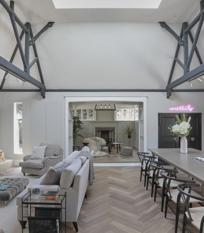 How To Design An Open Plan Living Space Victorian Family