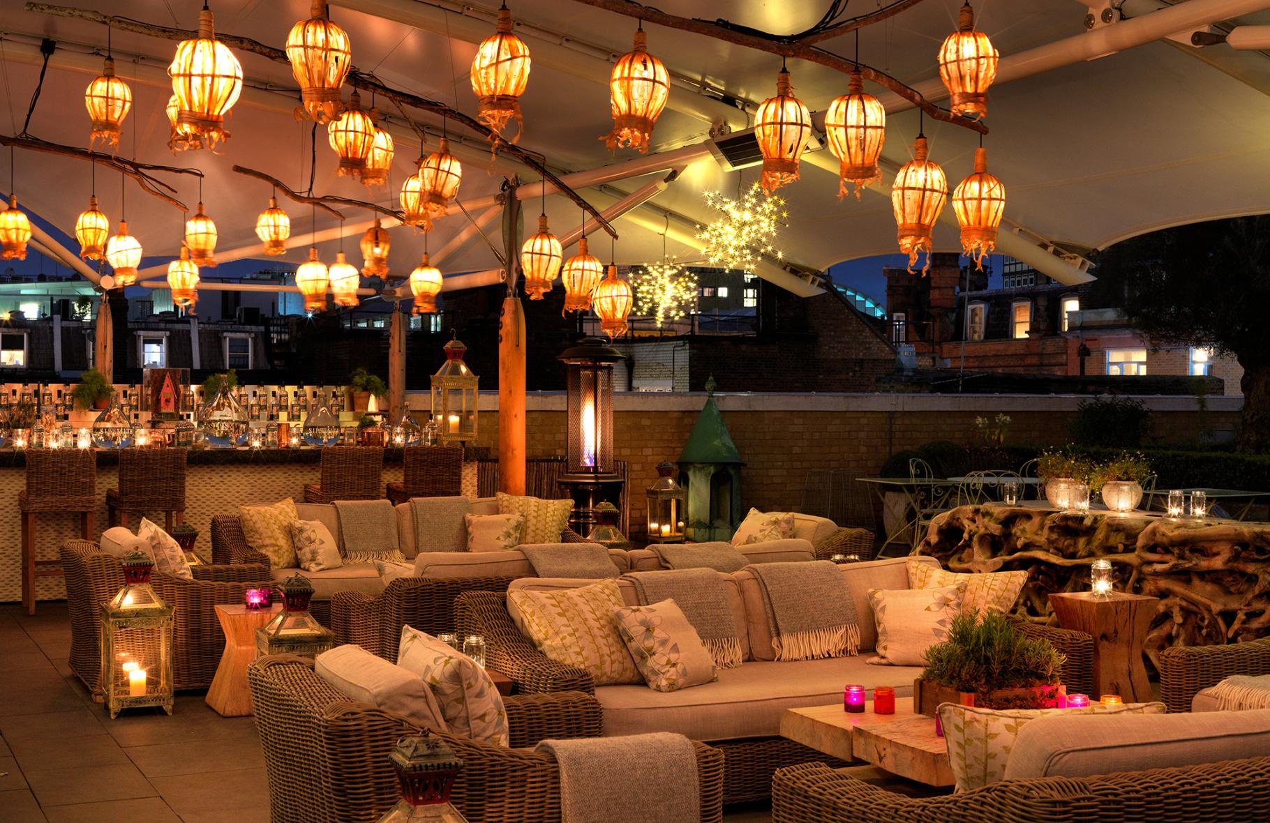 Hot Gin Roof | Ham Yard Hotel - Humphrey Munson Blog