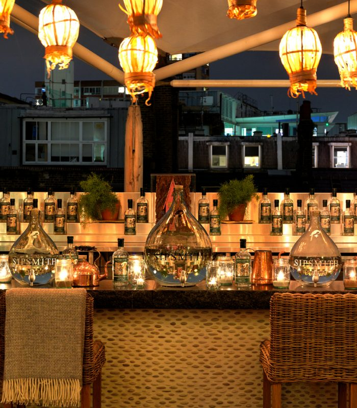 Hot Gin Roof Ham Yard Hotel Humphrey Munson Kitchens