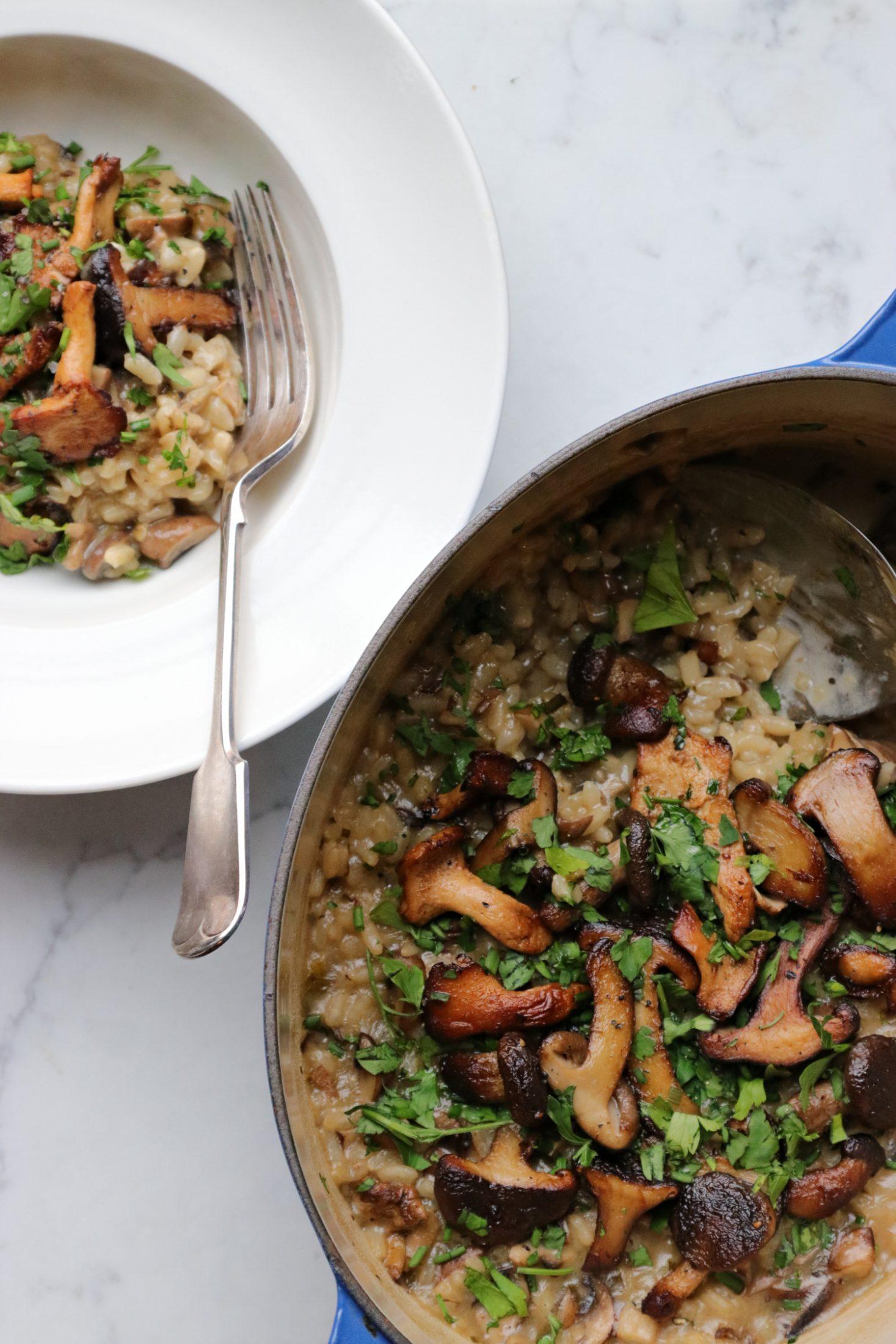 Recipe Notes | Baked Mushroom Risotto - Humphrey Munson Blog