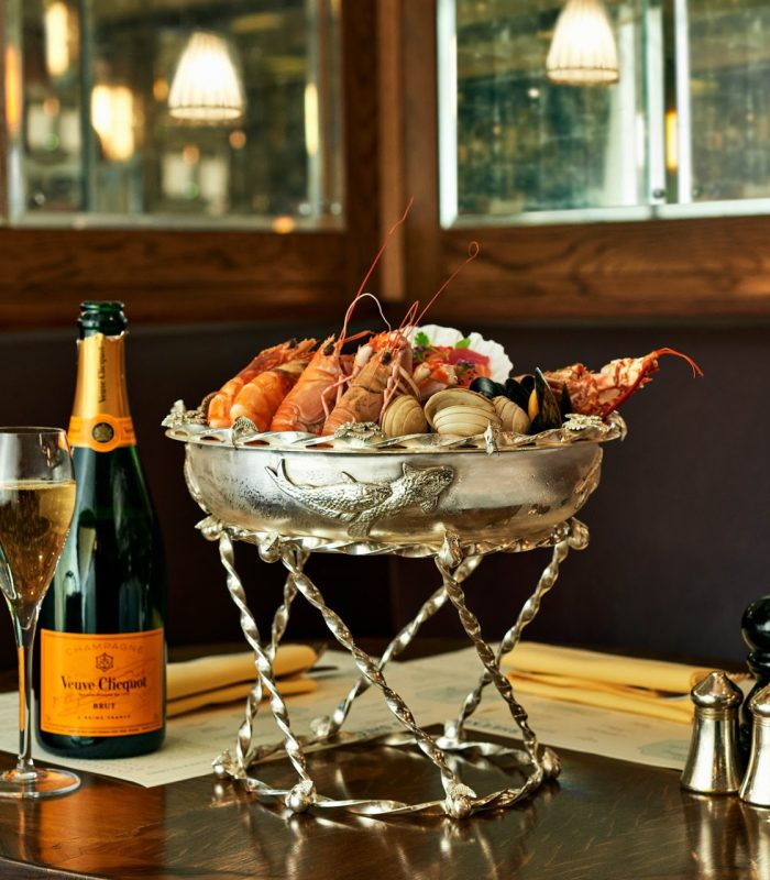 Erdems Plateau De Fruits De Mer J Sheekey Atlantic Bar Terrace