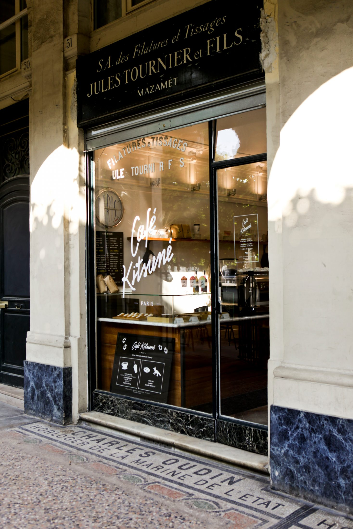 Café Kitsuné | Humphrey Munson Blog