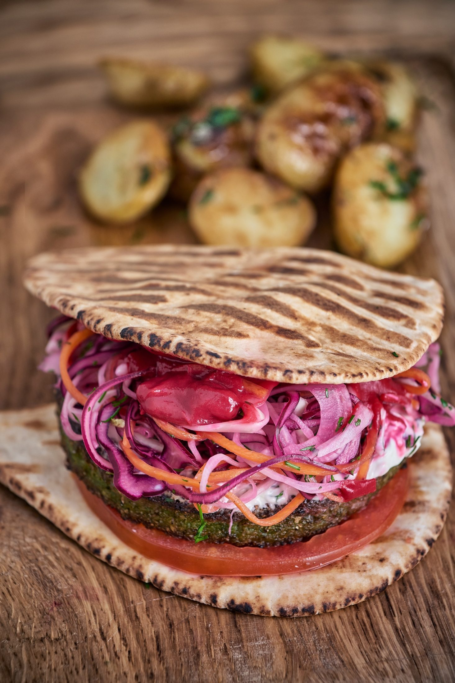 A.O.K Kitchen & Bakery - Falafel Pittas - Humphrey Munson Blog