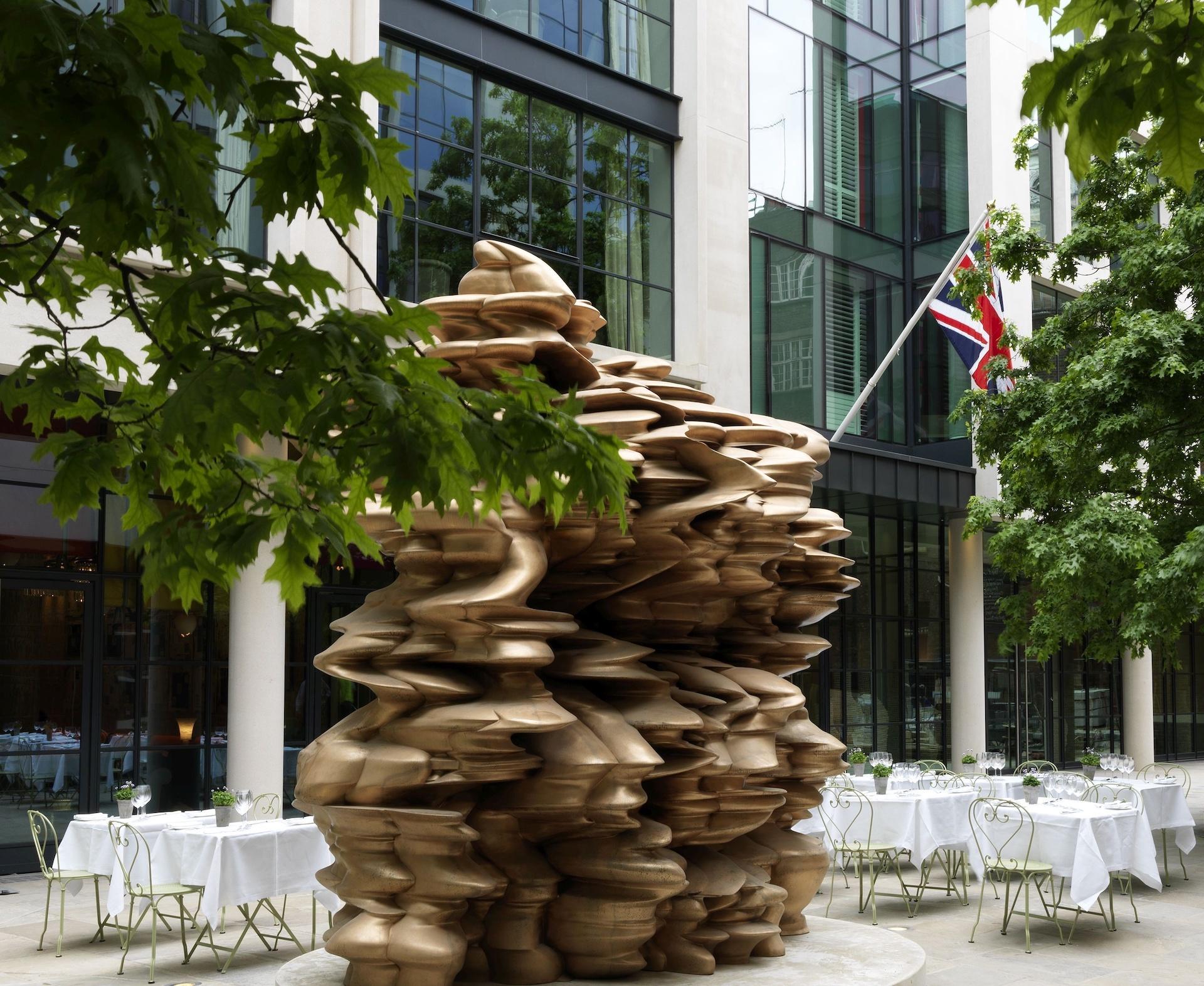 Firmdale Art Walks - Ham Yard Hotel - Tony Gragg - Humphrey Munson